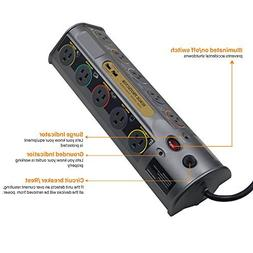 10-Outlet Advanced Power Strip Surge Protector with 6-Foot P
