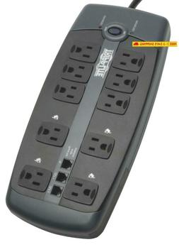 Tripp Lite 10 Outlet Surge Protector Power Strip, 8Ft Cord,