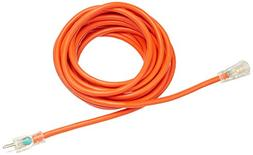 AmazonBasics 12/3 SJTW Heavy-Duty Lighted Extension Cord - 2
