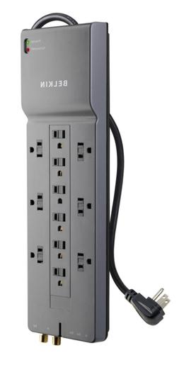 12 outlet power strip surge protector w