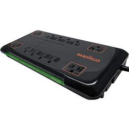 Echogear 12 Outlet Power Strip Surge Protector with 3420J of