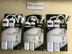 3 or2013x2 strip 6 outlet with 18