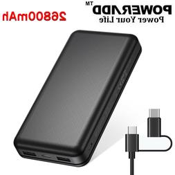 5FT 3 Outlet Power Strip Surge Protector 3 USB Wall Charger