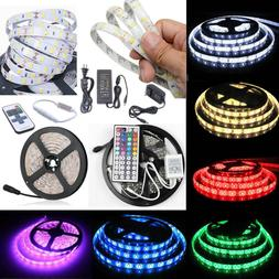 5M 10M SMD 3528 5050 5630 300LEDs RGB White LED Strip Light