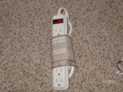 6 Outlet Power Strip! 3 foot Cord! Brand NEW! 15 amp! 125 Vo