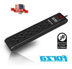 Forza 6-Outlet Surge Protector Commercial Power Strip with