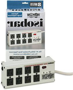 Tripp Lite 8-Outlet Isobar Surge Protector Power Strip, 12 F