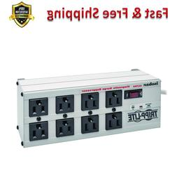 8 Outlet Surge Protector Power Strip 12 ft Cord Right Angle