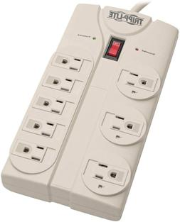 Tripp Lite 8 Outlet Surge Protector Power Strip,8ft Cord Rig