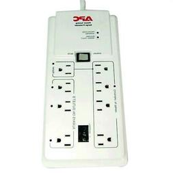 8-Outlet Surge Protector With Master/Controlled Outlets