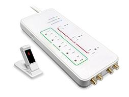 8 Outlet Wireless Smart Surge Protector Power Strip Extended