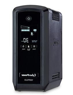 CyberPower CP1000PFCLCD PFC Sinewave UPS System, 1000VA/600W