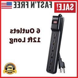 CyberPower CSB6012 Essential Surge Protector, 1200J/125V, 6