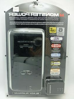 Monster Power Black Platinum- 6 outlet