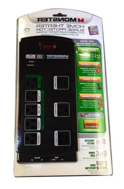 Monster Power JP 800G Home Theater Surge Protector with Gree