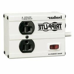 Tripp Lite Isobar 2 Outlet Surge Protector Power Strip, 6ft