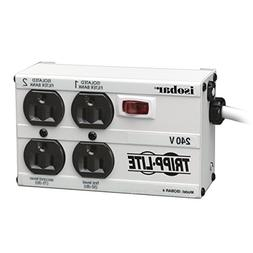 Tripp Lite Isobar 4 Outlet 230V Surge Protector Power Strip,