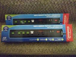Sunbeam Advanced 7 Outlet Power Strips With Surge Protector