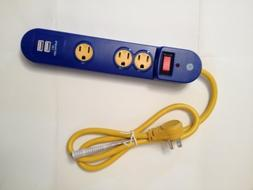 Advanced Surge Protector with USB Charging