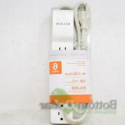 Belkin 4317CP Home/Office 6-Outlets 4Ft. Cord Power Strip Su