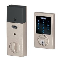 Schlage Z-Wave Connect Century Touchscreen Deadbolt with Bui