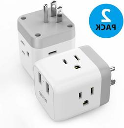 Cruise Power Strip No Surge Protector, TROND 3-Outlet Extend