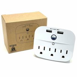 Cruise Power Strip with USB Outlets - Non Surge Protection &