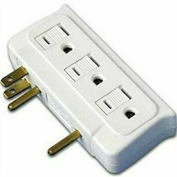 Master Electrician CT-010 6-Grounded Outlet Adapter, Side Mu