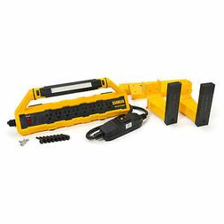 DeWalt DXSTA151PS 15A GFCI Power Strip & Detachable Light wi