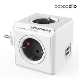 Allocacoc Electric EU Plug <font><b>Power</b></font> <font><