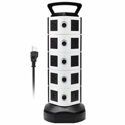 electric power strip 18 outlet plugs