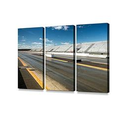 empty drag racing strip3 print