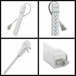 BKNBE10600006R - BELKIN BE106000-06R 6-Outlet Home Office Su