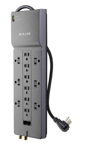 Belkin 12-Outlet HomeOffice Surge Protector with PhoneEthern