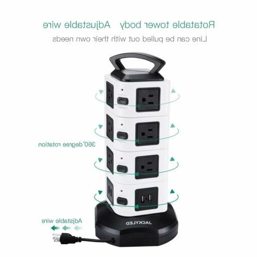 14 Tower 4 Surge Protector Station