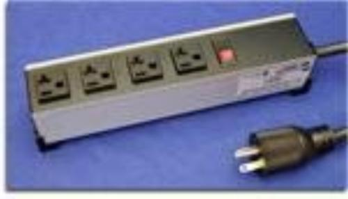 Hammond Manufacturing 1589H4G1 20 AMP POWER BAR, 4 OUTLETS