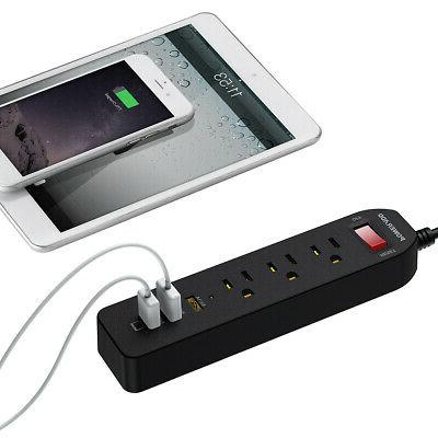 2 Pack Poweradd Outlet Surge Protector Charger