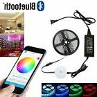 24V 32.8ft 5050 LED Strip Light RGB Waterproof  + Bluetooth