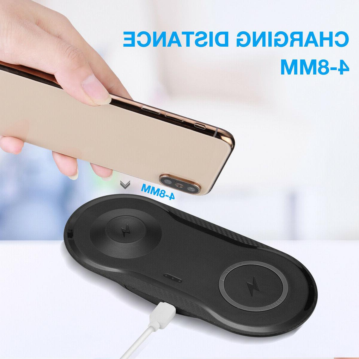 Dual Charger Dock Pad For x