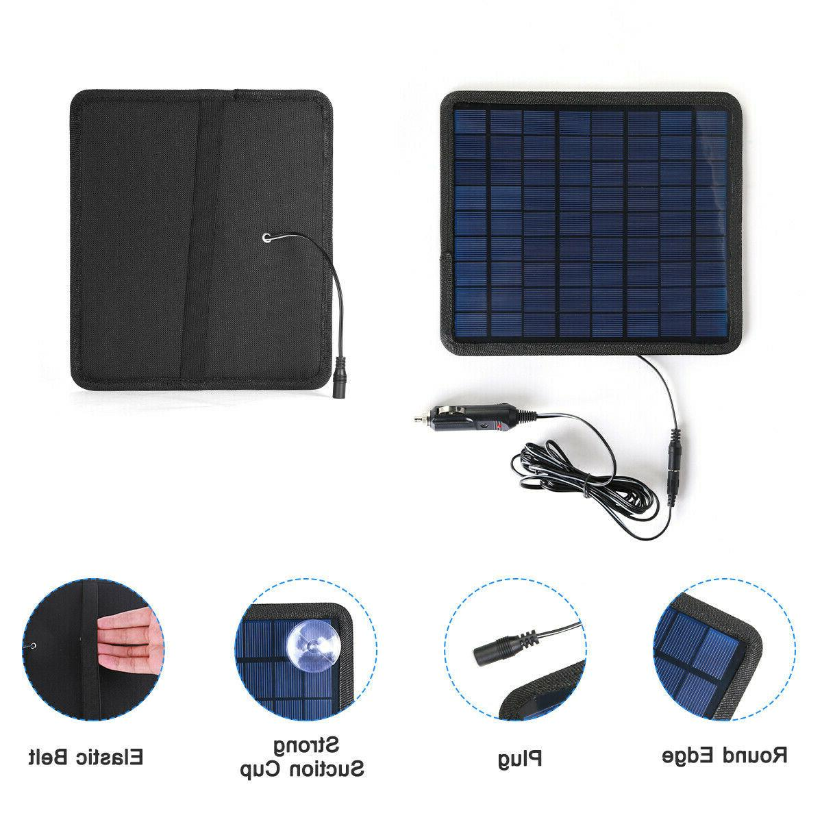 Solar Trickle Charge Maintainer RV Car