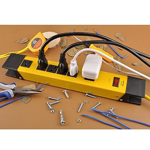 Bestten Outlet Duty Workshop Surge Protector Cord Cord,