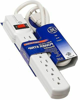 Six Outlets Three Wire Power Strip