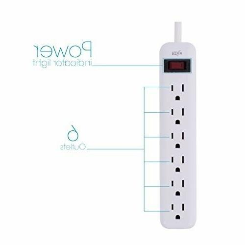 KMC 6-Outlet 3-Pack,