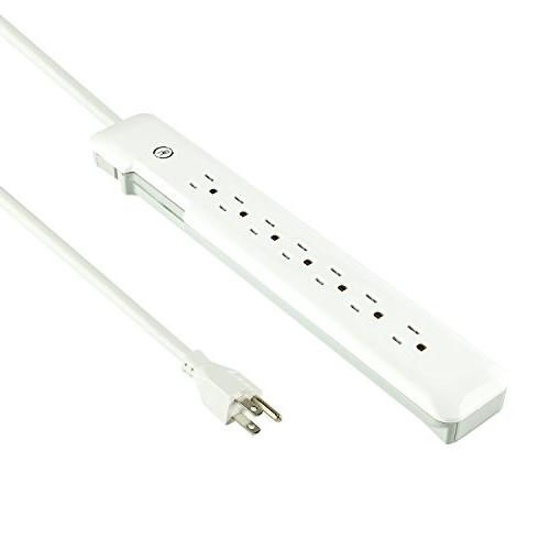 Yubi Power 7 AC Outlet 540 Joules & Status and Cord