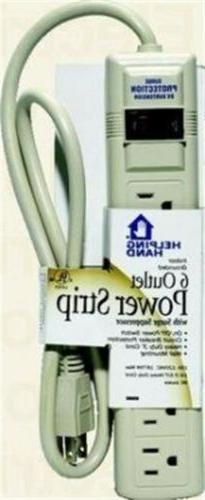 85060 6 outlet power strip with surge