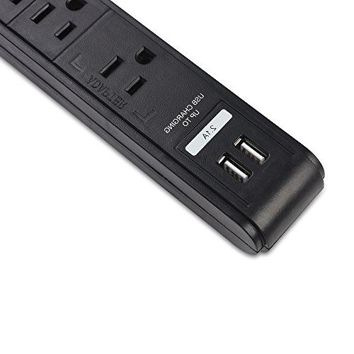 Cable 6 Surge Power with Charging Ports / 300 Joules 8 Foot in