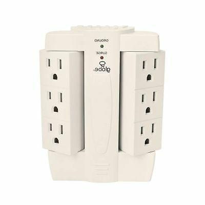 Globe 7732001 Home Appliance Six-Outlet Swivel Surge Tap