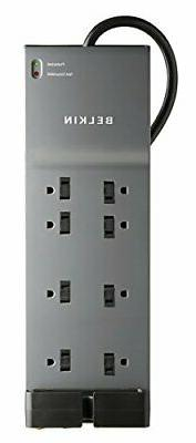 Belkin BE108230-06 8-Outlet Home/Office Surge Protector w/ C
