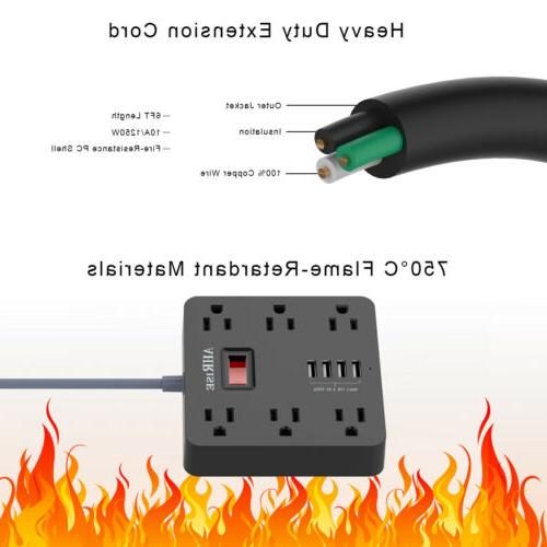 Cruise Power Surge Long Cord Outlets