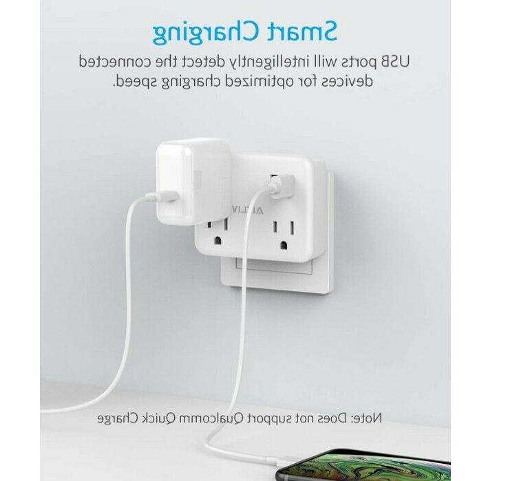 Cruise Power Strip No Surge Outlet Extender USB